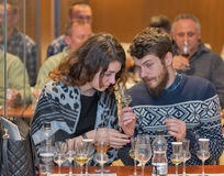 Whisky Dram Festival in Kiev, Ukraine Royalty Free Stock Photo