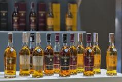 Whisky dram festiwal w Kijów, Ukraina Zdjęcie Royalty Free