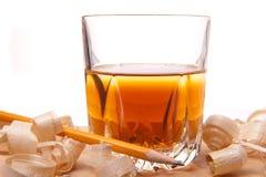 whisky drewno Fotografia Stock