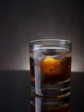 Whisky e ghiaccio fotografia stock libera da diritti