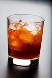 Whisky e ghiaccio Fotografie Stock Libere da Diritti