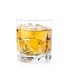 Whisky e hielo Fotos de archivo libres de regalías