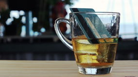Whisky e hielo de la tarjeta de crédito almacen de video