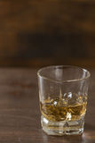 Whisky in een glas Royalty-vrije Stock Foto