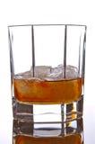 Whisky en las rocas Fotografía de archivo libre de regalías