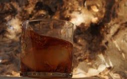 Whisky en las rocas Foto de archivo