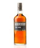 Whisky escocés de la sola malta de Auchentoshan Fotografía de archivo