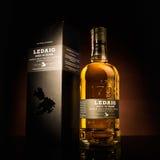 Whisky escocés de la sola malta de Ladaig Fotos de archivo