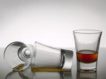 whisky för shots tre royaltyfria foton