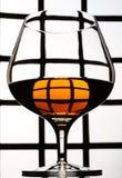Whisky glass Royalty Free Stock Photos