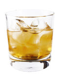 Whisky glass Stock Images