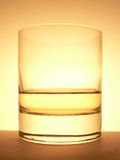 Whisky glass Stock Photography