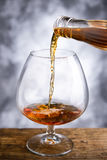 Whisky glass Royalty Free Stock Image