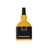 Whisky glass bottle Stock Photography