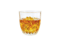Whisky Glass; Clipping path Stock Images