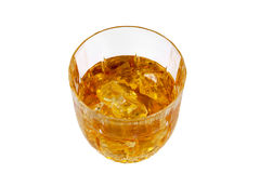 Whisky Glass; Clipping path Stock Photography