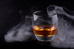 Whisky glass Stock Photos