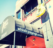 Whisky a go go in Sunset Strip Royalty Free Stock Photo