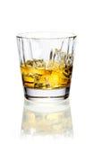 Whisky lub brandy na lodzie fotografia royalty free