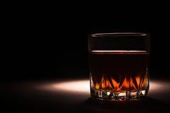 Whisky napój w szkle Obraz Royalty Free