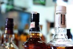 Whisky nel botle Fotografia Stock Libera da Diritti