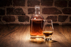 Whisky with nosing Glass Stock Photography