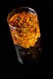 Whisky och is arkivfoton