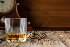 Whisky- och klockakugghjul Arkivbilder