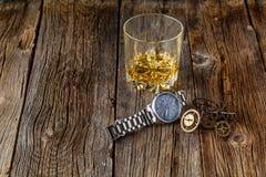 Whisky- och klockakugghjul Royaltyfri Fotografi