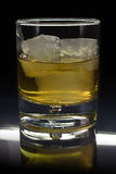Whisky? On the rocks!. Nothing is better than a glass of whisky on the rocks Royalty Free Stock Photography