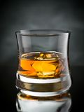 Whisky on the rocks Royalty Free Stock Images