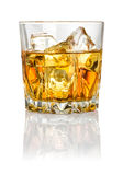Whisky on the rocks Royalty Free Stock Photography