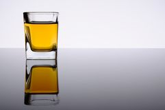 Whisky shot Stock Photography