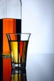 Whisky shot Royalty Free Stock Image