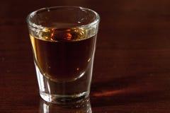 Whisky shot Stock Image