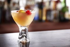 Whisky Sour Royalty Free Stock Image
