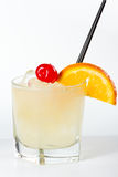 Whisky sour Royalty Free Stock Images