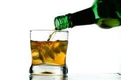 Whisky splash Royalty Free Stock Photo