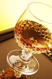 Whisky in stamglas Stock Afbeeldingen