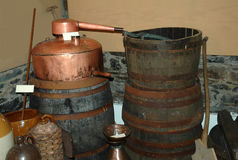 Whisky Still Stock Photography