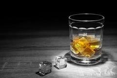 Whisky strzał pije, alkoholów strzały, Szkocki, i alkohol, alkoholiczka fotografia stock