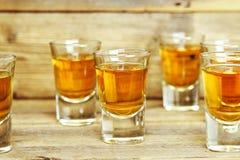 Whisky strzały zdjęcia stock