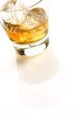 Whisky su bianco Fotografie Stock Libere da Diritti