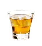 Whisky su ghiaccio Immagini Stock Libere da Diritti