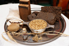 Whisky taste components. Turf, heather, oats etc Royalty Free Stock Photography