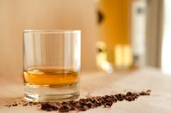 Whisky y chocolate Fotos de archivo