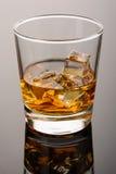 Whisky z lodem Obrazy Stock