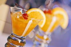 Whisky Zure Cocktails Royalty-vrije Stock Afbeeldingen