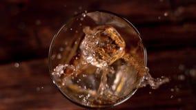 Whiskydrank stock videobeelden