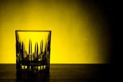 Whiskyexponeringsglas Arkivfoton